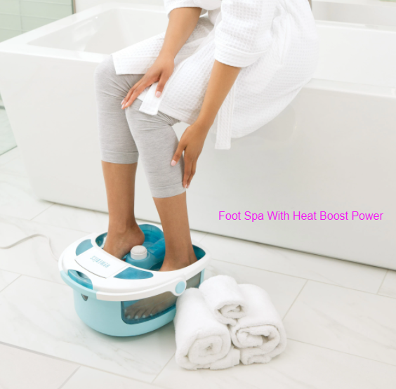 Foot Spa With Heat Boost Power